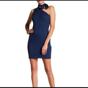 1. State Tie Shoulder Dress (Navy)